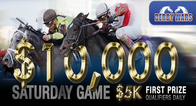DerbyWars $10K Saturday game