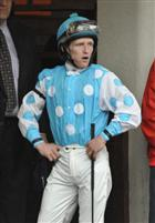 14 March 2009: Jockey James Graham looks over the competition in the paddock before riding Giant Oak to a fourth place finish in the 96th running of the grade 2 Louisiana Derby at the Fair Grounds Race Course in New Orleans, Louisiana.
