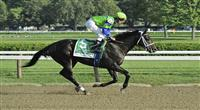 10 September 06: Boys At Tosconova (no. 5), ridden by Ramon Dominguez and trained by Richard Dutrow Jr., wins the 106th running of the grade 1 Hopeful Stakes for two year olds at Saratoga Race Track in Saratoga Springs, New York.