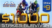 $1,000 DerbyWars Survivor Game