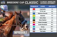 Breeders' Cup Classic 2020: Odds and analysis
