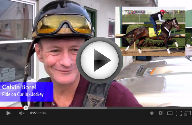 Calvin Borel talks about Kentucky Derby 2014 contender Ride On Curlin in this NEW video!