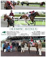 Olympic Avenue wins a Maiden Special Weight at Keeneland.