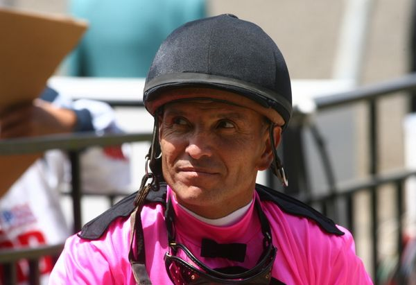 July 28 2010: Patrick Valenzuela resumes riding in southern California at Del Mar Race Track in Del Mar CA.