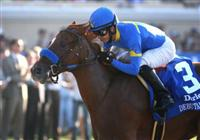 September 04 2010. Tell a Kelly and Alonso Quinonez win the Darley Debutante(GI) at Del Mar Race Track in Del Mar CA.