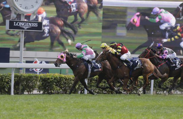 Aerovelocity holds off Lucky Bubbles in Hong Kong Sprint
