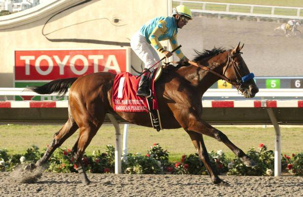 American Pharoah Del Mar Futurity 615 X 400