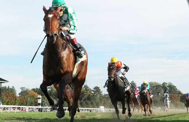 Apple Betty makes good in 2nd chance at Keeneland's Dowager Stakes