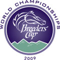2009 Breeders' Cup logo - Oak Tree at Santa Anita