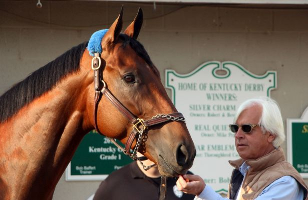 Baffert_American Pharoah_Derby_615 X 400