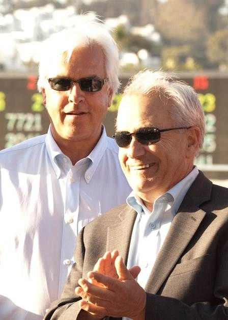 Bob Baffert and Jerry Hollendorfer