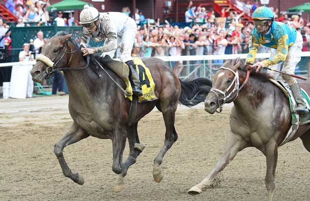 Big Trouble Captures Wild Sanford Horse Racing Nation