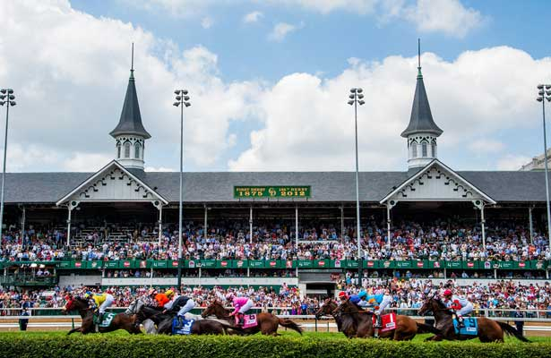 The very famous Churchill Downs - venue of the most exciting two minutes in sports