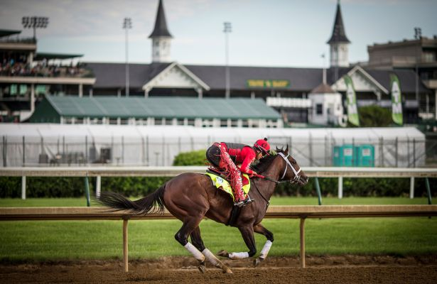 Preakness 2017: Classic Empire completes preparations at ...