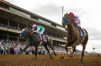 Collected beats Arrogate in the Pacific Classic