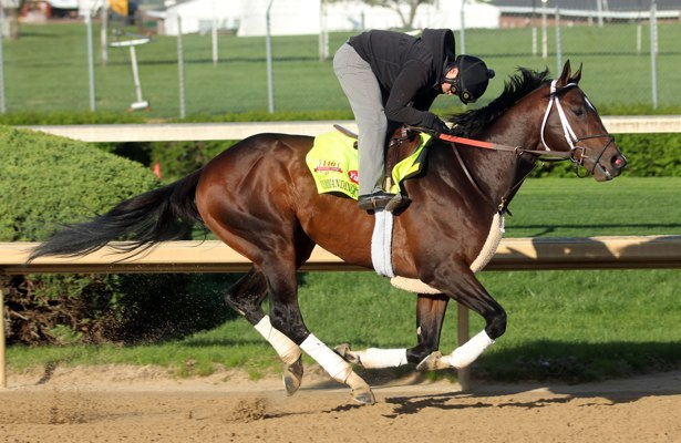Commanding Curve is in Kentucky Derby 2014