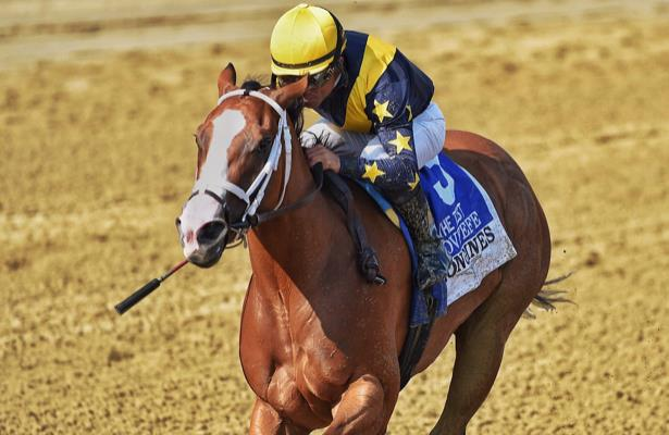 In a twist, champion Covfefe retires 'sound,' to breed in 2020