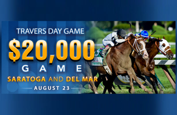DerbyWars Travers Day $20,000 Saturday Day Game