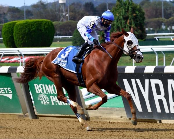 Danny California goes wire-to-wire in Belmont's Miner's Mark
