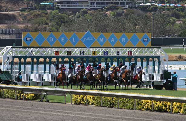 Opening day scene at Del Mar at Del Mar Race Course in Del Mar, California on July 17,2013. (Zoe Metz/ Eclipse Sportswire)
