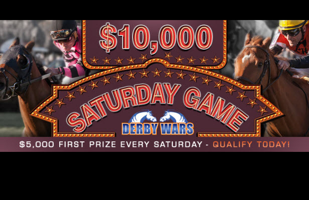 TWO $10K Games THIS WEEKEND on DerbyWars!