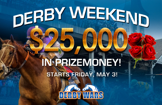 $25,000 in Derby Contests on DerbyWars