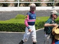 September 15, 2009: Dustin Dugas at Louisiana Downs.
