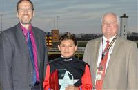 Eduardo Gallardo named recipient of Juan Salez Leading Apprentice Jockey