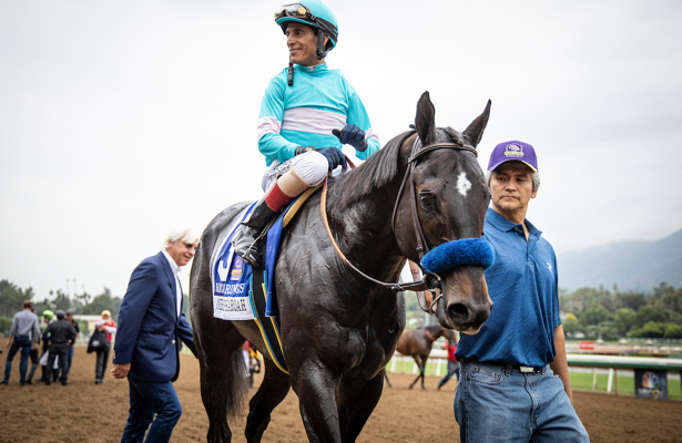 Velazquez Stays On Eight Rings Bast For The Breeders Cup