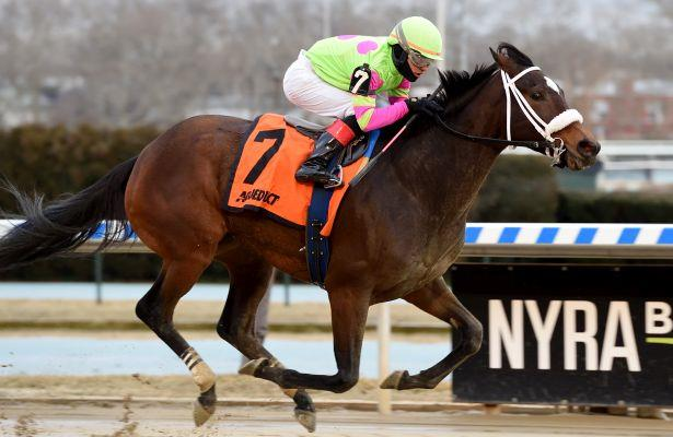 Forever Liesl scores first stakes in Aqueduct's Ladies Handicap