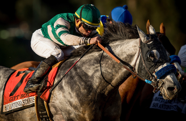 Santa Anita Handicap's focus squarely on McKinzie, Gift Box