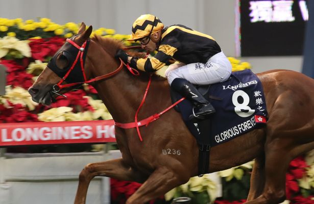 Glorious Forever clinches Hong Kong Cup