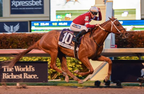 Gun Runner goes out a winner in Pegasus World Cup 2018