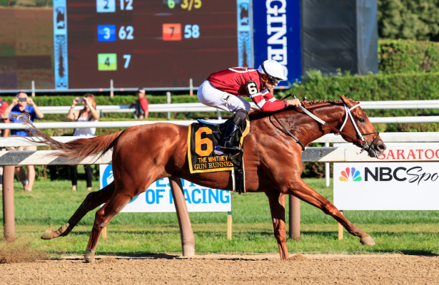 Gun Runner Keeps Rolling With Woodward Win