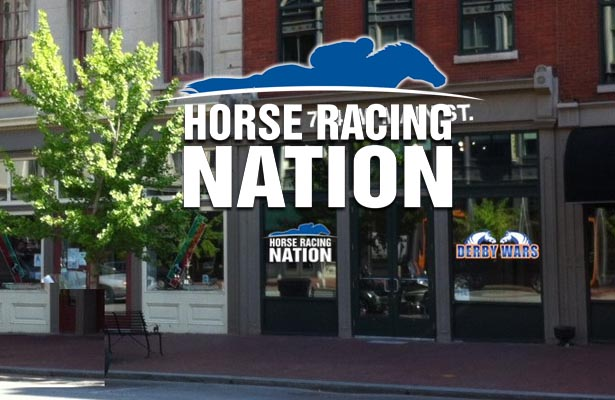 Horse Racing Nation HQ front door