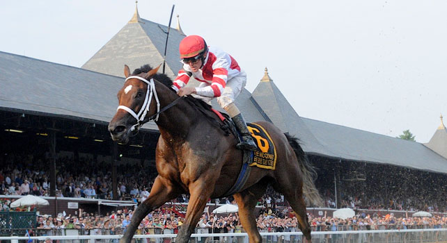 Havre De Grace wins the 2011 Woodward
