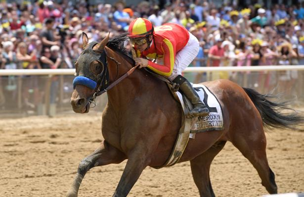 Hoppertunity assigned high weight for Del Mar's Cougar II