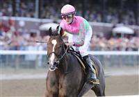 Icon Project dusted the competition in the 2009 Personal Ensign at Saratoga