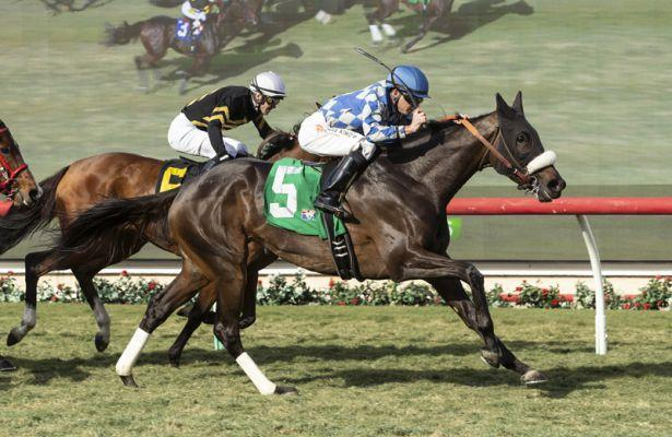 India Mantuana gamely prevails in Red Carpet Handicap
