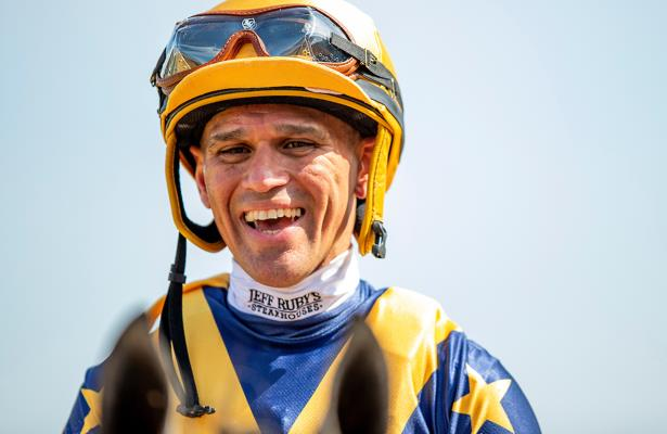 Updated: Jockey Castellano positive for COVID-19, to isolate