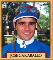 Jockey Jose Caraballo