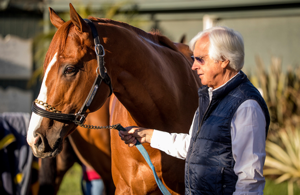 Nothing S Changed Kentucky Derby Favorite Justify Impresses