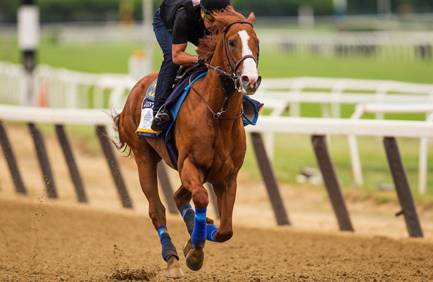 Justify bags Triple Crown win in Belmont Stakes class=