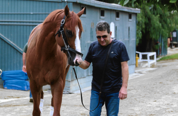 Baffert assistant Barnes gets his due with Justify's Triple Crown