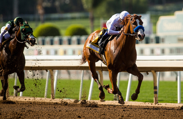 Kentucky Derby 2018 Trail Justify Tops Santa Anita Derby