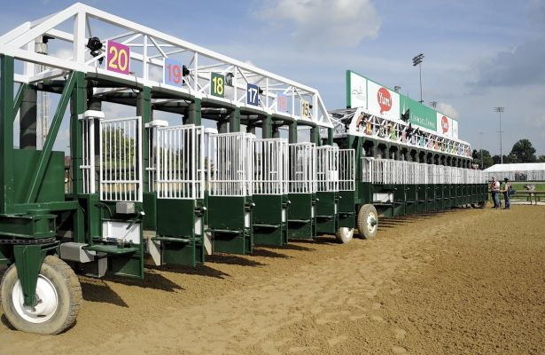 Kentucky Derby Starting Gate 615 X 400