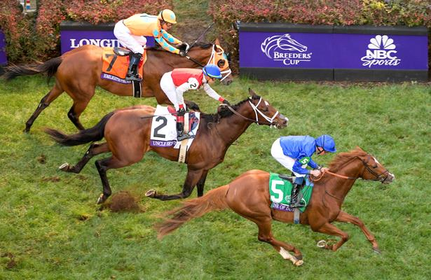 Line of Duty nabs Uncle Benny, wins Breeders' Cup Juvenile Turf
