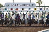 Los Alamitos starting gate (12-12-15)
