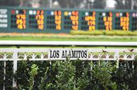 Scenes from around the track on Los Alamitos Futurity Stakes Day on December 20, 2014 at Los Alamitos Race Course in Los Alamitos, California. (Bob Mayberger/Eclipse Sportswire)