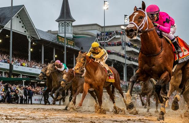 Maximum Security owners sue, seek to overturn Derby DQ